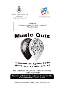 150424 San Gavino - Music Quiz